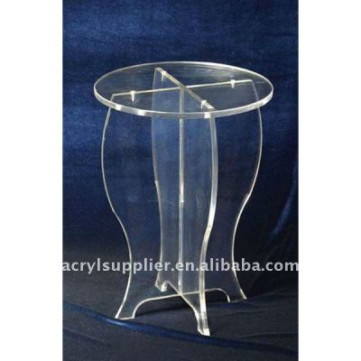 Clean Acrylic dining table