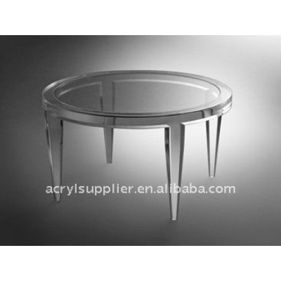 Crystal Acrylic table at home and in offices