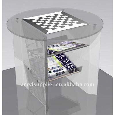 transparent Clear Acrylic Bar Table