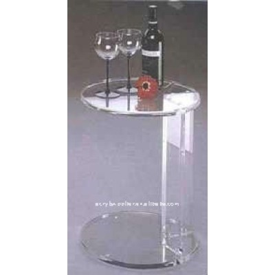 Round acrylic tables with style nightstand dining tables