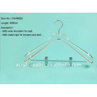 Acrylic bottom hangers