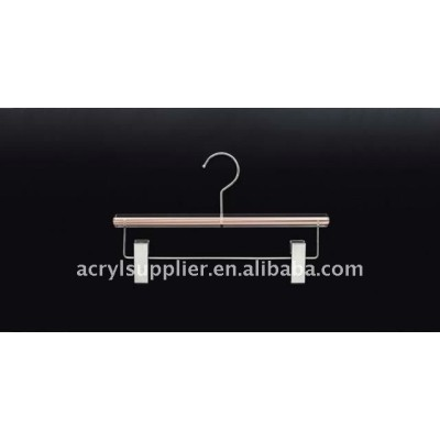 Acrylic round clips hangers
