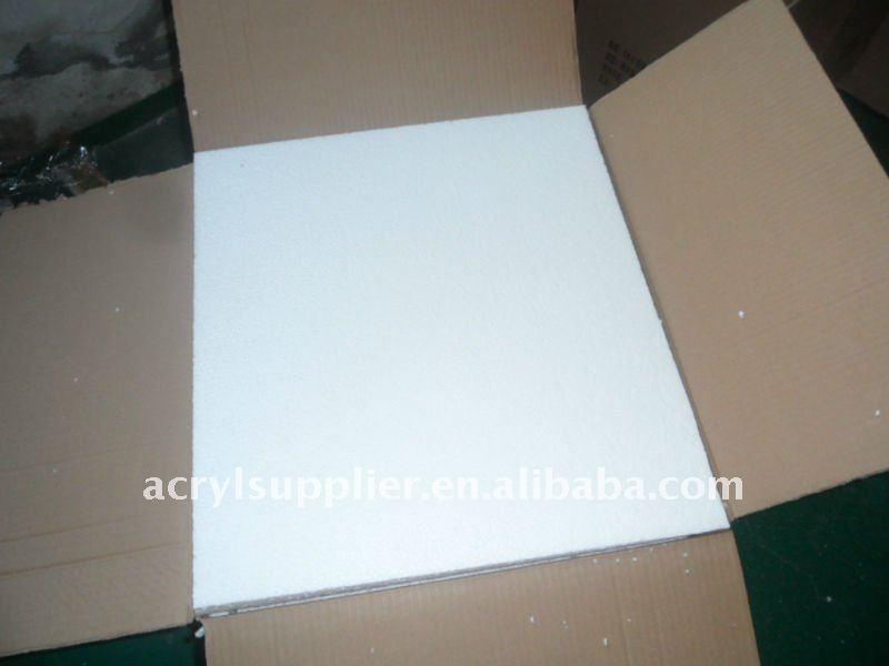Transparant environmental clear acrylic napkin tissue box