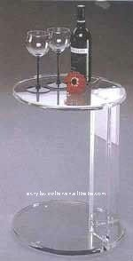 new style transparent clear acrylic room table