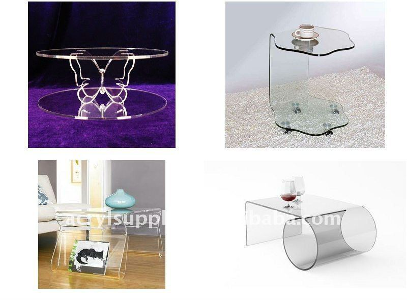 Hot sale acrylic round coffee table for home