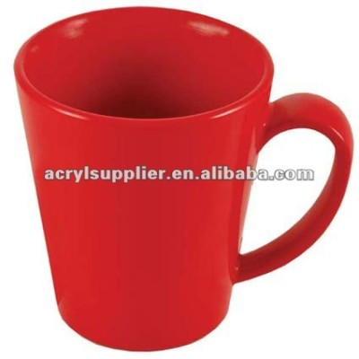 Red acrylic cup for home&office