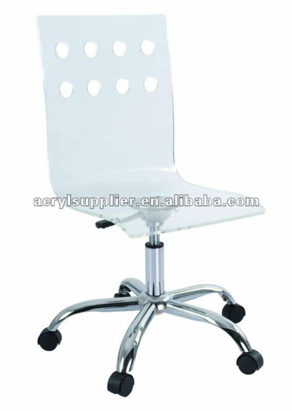 acrylic office chair