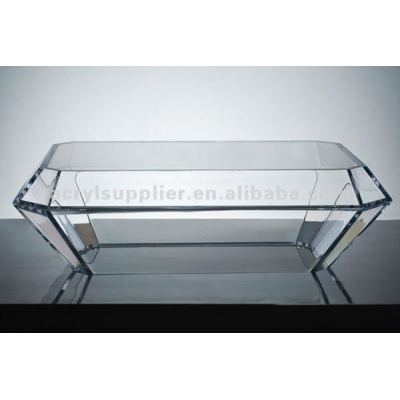 transrparent Clear Acrylic Table Set