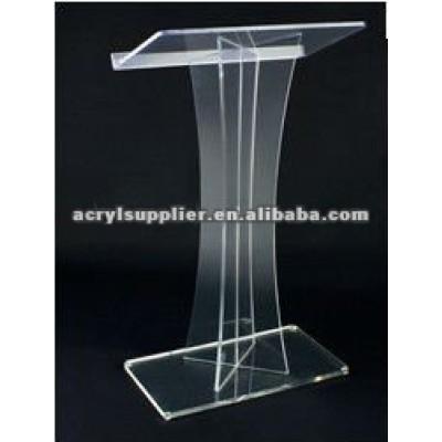 clear acrylic lectern/acrylic pulpit