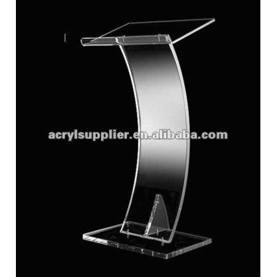 Clear classic stable acrylic acrylic lectern