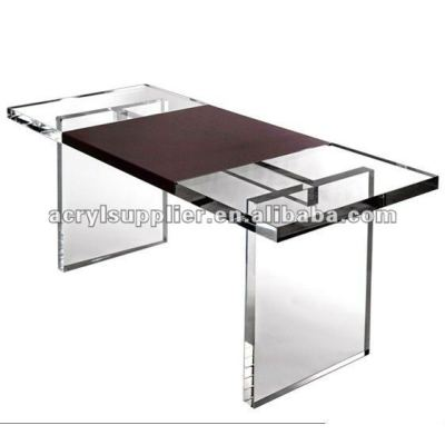 clear acrylic desk for home or office