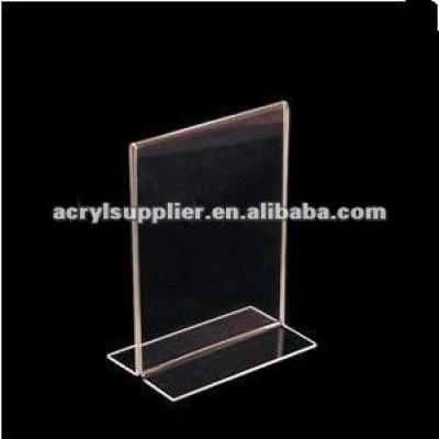 a4 acrylic display