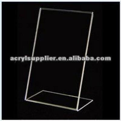 Acrylic Matress Sign Holder