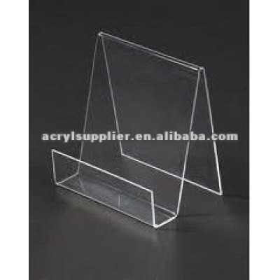 clear hanging acrylic sign holder