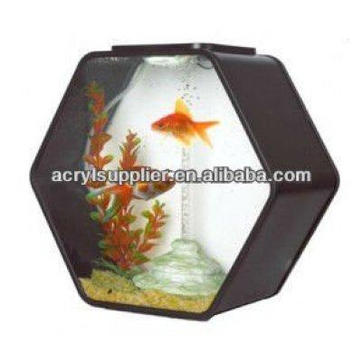 acrylic colorful fish tank