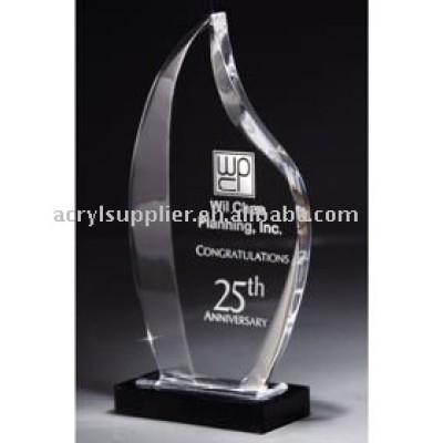 Deco Flame Acrylic Award