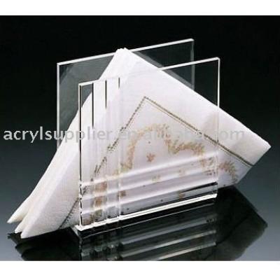 acrylic paper napkin holder