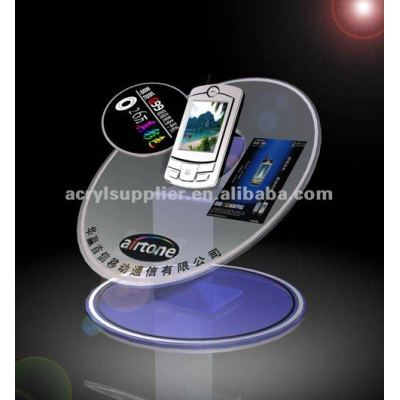 New design clear acrylic cell phone holder