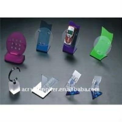 acrylic mobile phone holder/acrylic headband holder/display holder stand for mobile phone