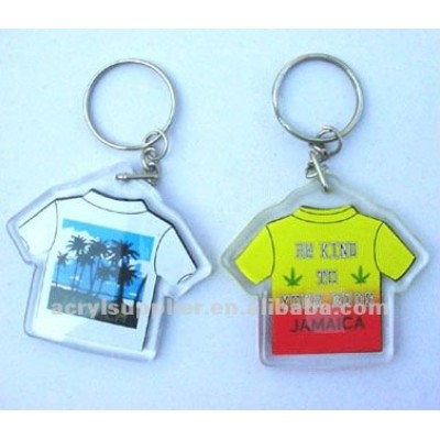 custom transparent acrylic container keychain in crafts