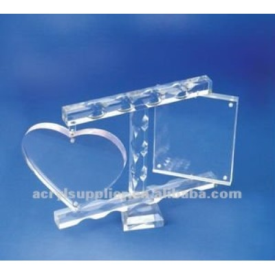 New crystal shape acrylic paperweight for wedding souvenirs