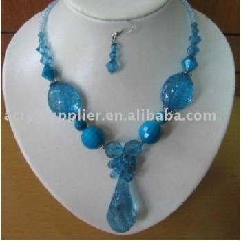 Great charm Acrylic bead jewelley necklace