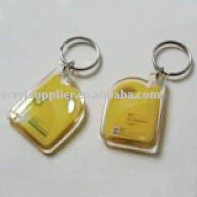 acrylic key chain