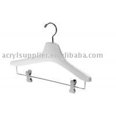 acrylic hangers racks