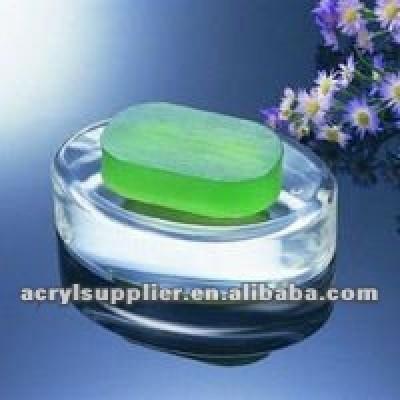 acrylic soap holder