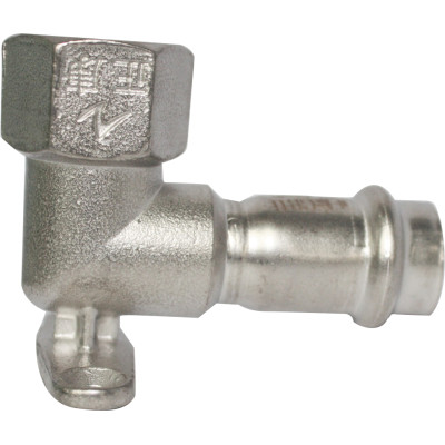 Female Elbow 90°with Wall Plate