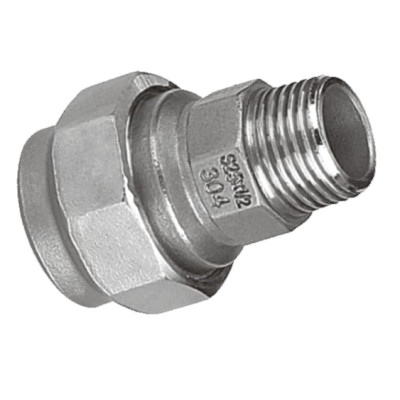 Coupling with Male Thread End