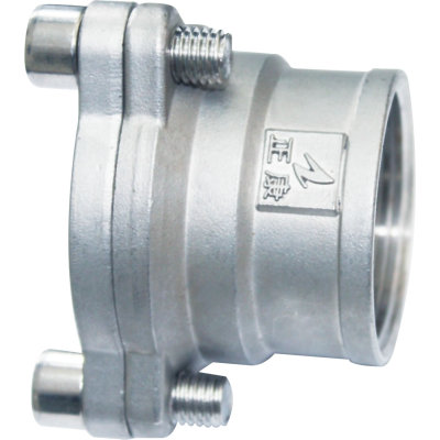 Flanged Coupling with Female Thread End