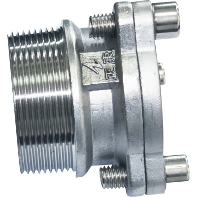 Flanged Coupling with Male Thread End