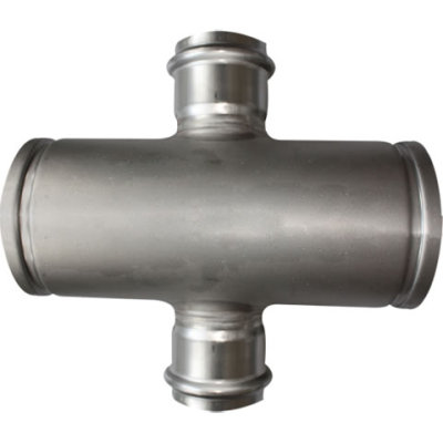 Reducer Cross with Press Fitting Branch