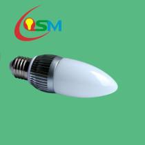 led candle bulb (OSM-LB-GHE273*1W-FB)
