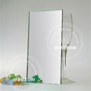 hoja de plata espejo