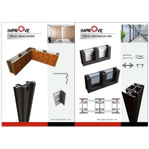 steel profiles for the door and window