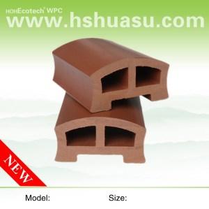 wpc railing/wpc Handrail 80H45