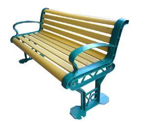 WPC (الخشب البلاستيك المركب) مقعد حديقة مقاعد البدلاء / كراسي