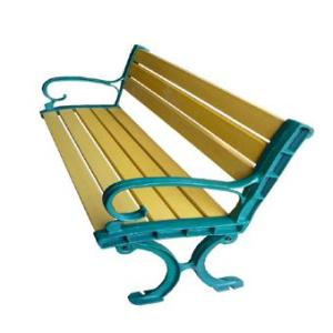 wpc(wood plastic composite)bench garden bench/chairs