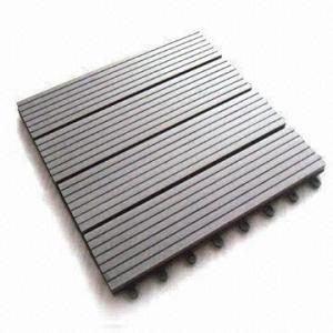 wpc decking tile 300*300mm