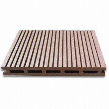 17mm thickness design wood plastic composite decking for Timber decking thickness