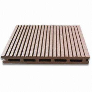 17mm thickness design wood plastic composite decking 140H17