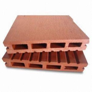 140x25mm Hollow wpc decking board