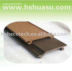 Smooth surface wpc wall panel wall cladding