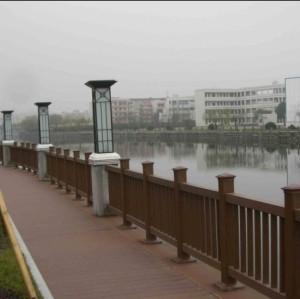 Bridge wpc railing/post