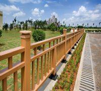 Public decoration composite decking railing  wpc railing/post