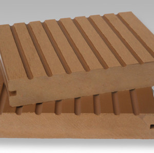 engineered hollow and solid composite decking