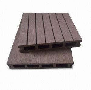 hollow146x25mm composite decking wpc decking /flooring