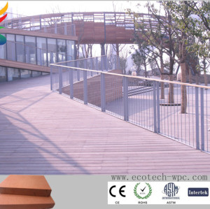 waterproof wpc outdoor decking